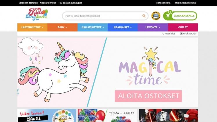 KidsPartyStore.fi