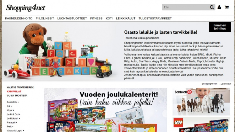Shopping4net leikkikalut