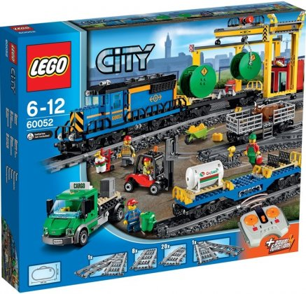 Lego City Trains 60052 Tavarajuna