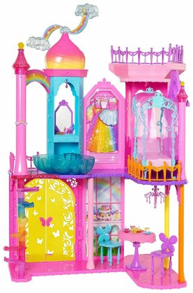 Barbie Rainbow castle