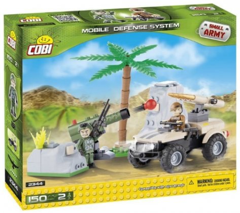 Cobi Small Army Rocket Launcher (150 osaa)