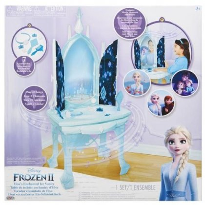 Jakks Pacific Disney Frozen 2 Elsas Feature Vanity