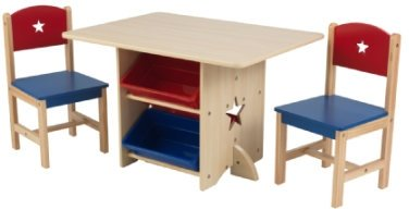 KidKraft Pöytä ja kaksi tuolia 96ec9af2d1