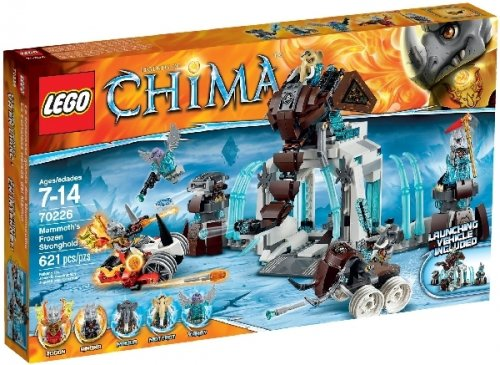 Lego Legends of Chima 70226 Mammoths Frozen Stronghold