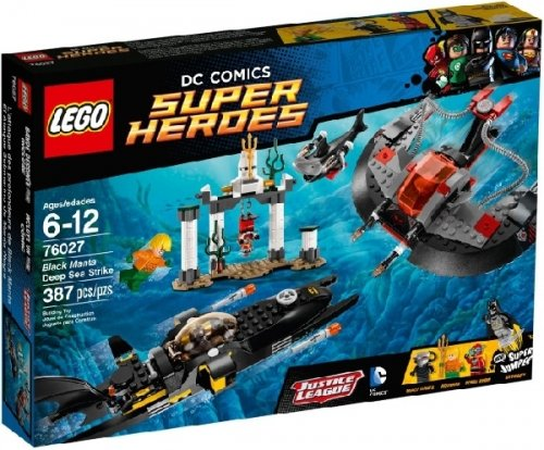 LEGO Super Heroes - Black Manta Deep Sea Strike (lego 76027)
