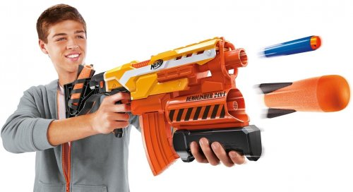 Nerf Nstrike Elite Elite Demolisher 2-in1 -ase