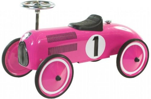 Retro roller marilyn push car