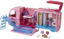 Barbie Pop-Up Camper asuntoauto (CJT42)