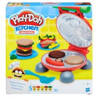 Burger Barbecue -muovailuvaha, Play-Doh