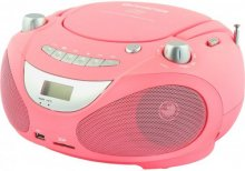 CD-soitin/radio/MP3/USB, pinkki ABB200P, Champion electronics