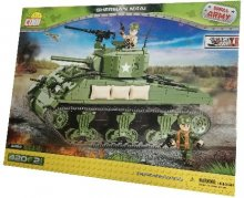 Cobi World War II M4AI Sherman Tankki (400 osaa)