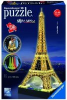 Ravensbuger - 3D Puzzle - Eiffel Tower - Night Edition