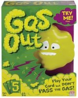 Gas Out Game, Mattel
