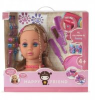 Happy Friend - Fiona Styling Dollhead (504067)
