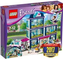 Heartlaken sairaala, Lego Friends 41318