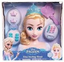 Disney Princess Frozen, Styling Head, Elsa, Disney Frozen