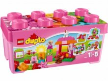 LEGO Duplo Creative Play, All-in-One pinkki leikkilaatikko, Lego 10571