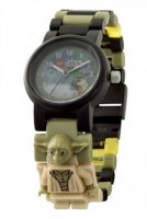 LEGO Star Wars Yoda Kids Minifigure Link Watch (Lego Star Wars børneur 8021032)
