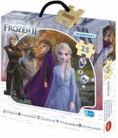 Disney Princess, Frozen, Puupalapeli, 25 palaa, Disney Frozen