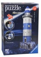 Ravensburger 3D Puzzle Lighthouse Night Edition