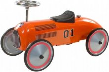Retro roller charley push car