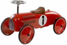 Retro roller james push car