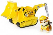 Paw Patrol, Basic Vehicle With Pup, Rubbles Diggin Bulldozer