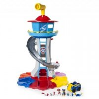 Paw Patrol Playset Life Sized Lookout Tower (Paw Patrol hovedkvarter 6037796)