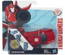 Transformers - Robots in Disguise - 1-Step Changers - Sideswipe (B4651)
